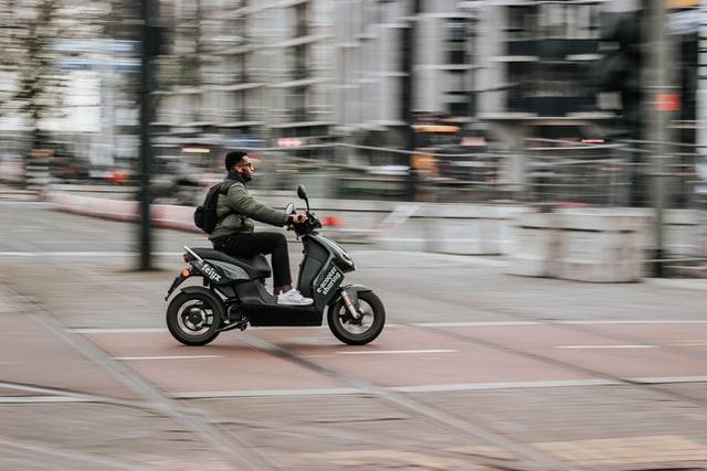 Elektrische scooter 25 km